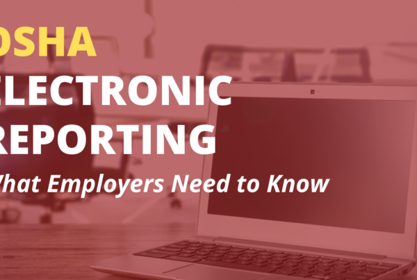 OSHA Electronic Reporting