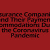 insurance companies and their payment accommodations during coronavirus