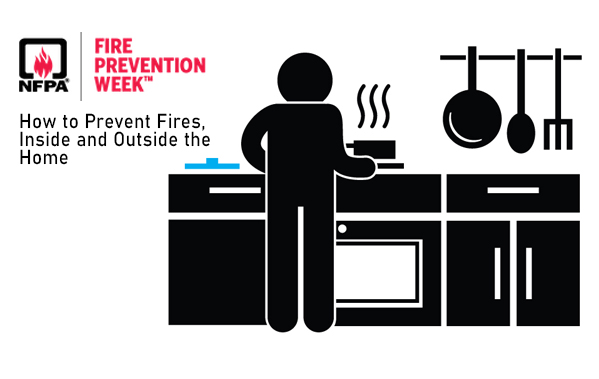 How to prevent fires inside and outside your home